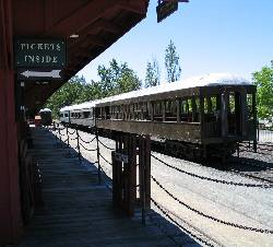 Rail Town near Yosemite Rose - a Yosemite National Park lodging
