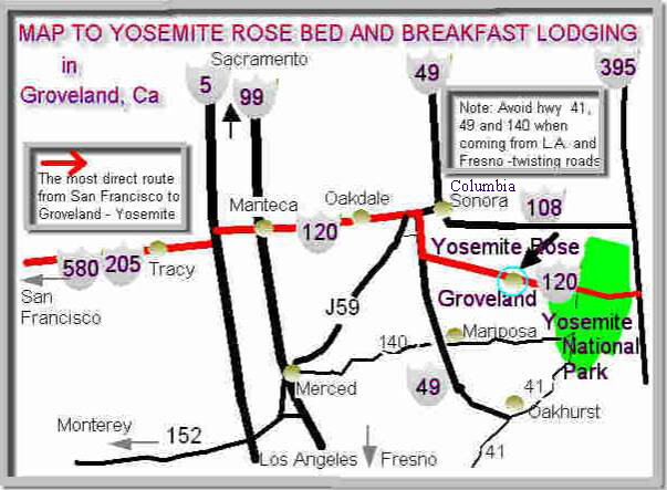 Yosemite area resort and inn near Groveland